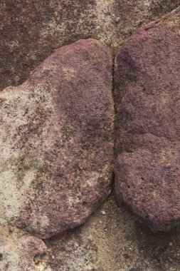 Detail of a rock texture with an abstract composition