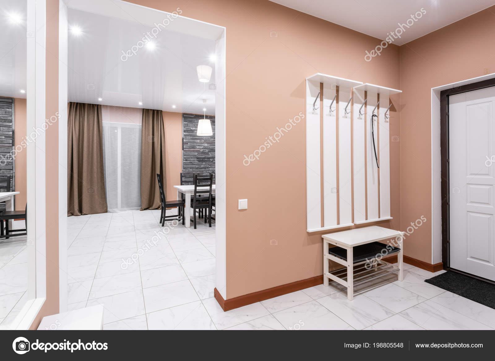 Salon interieur van de stijl van de moderne minimalisme. eenvoudige