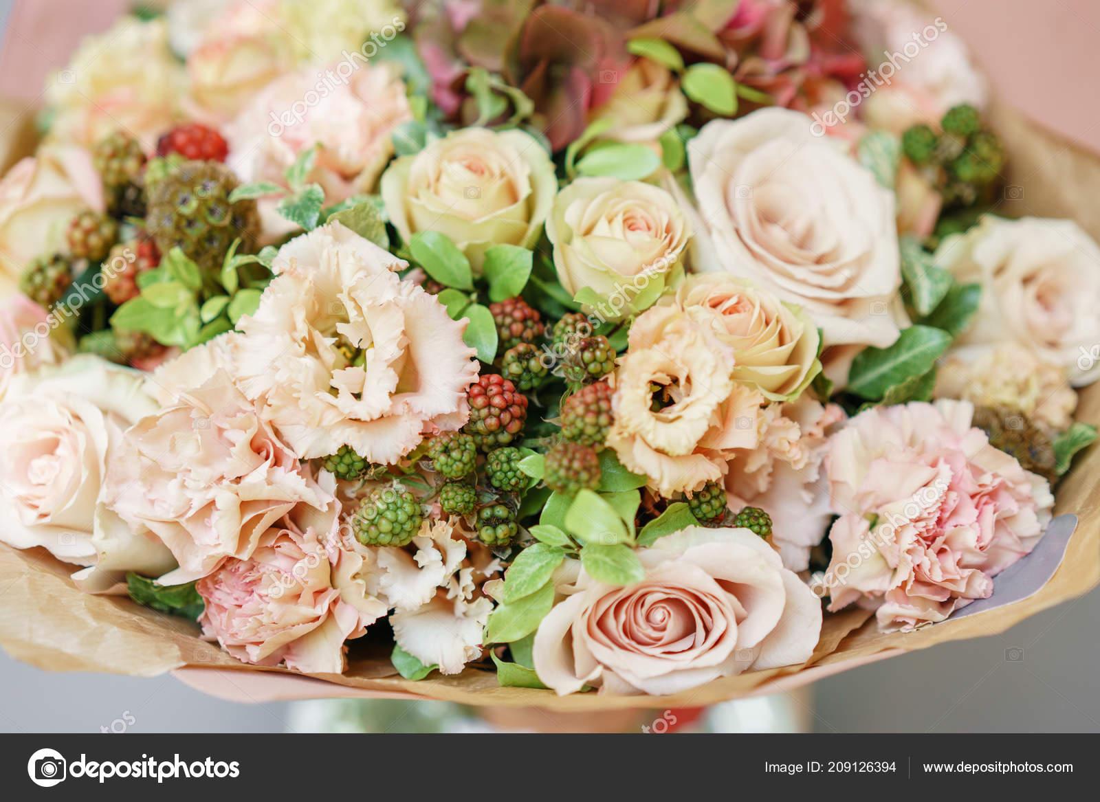 Arreglo Floral Mezcla De Flores Bouquet De Verano Hermoso