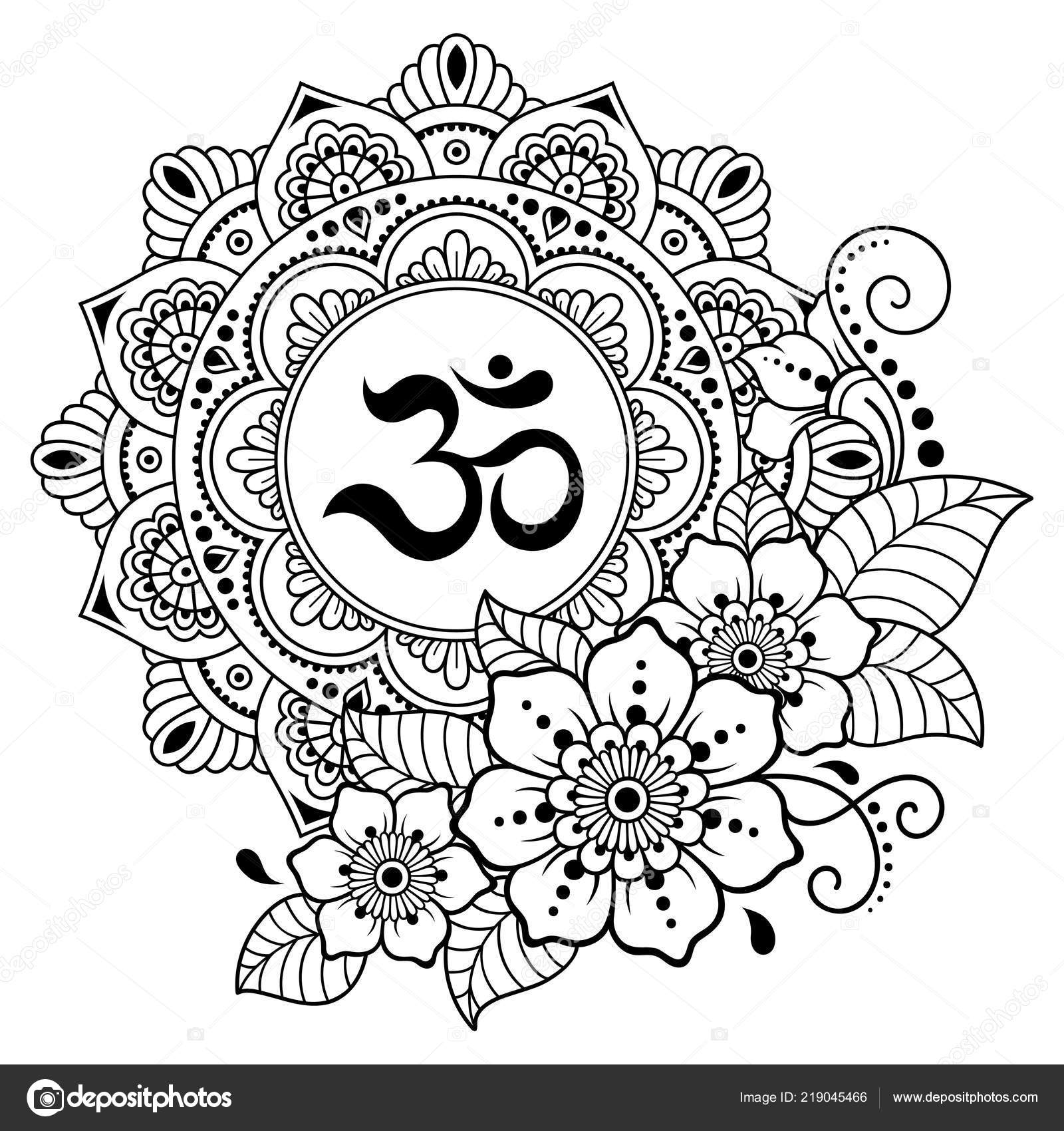 depositphotos stock illustration circular pattern form mandala ancient