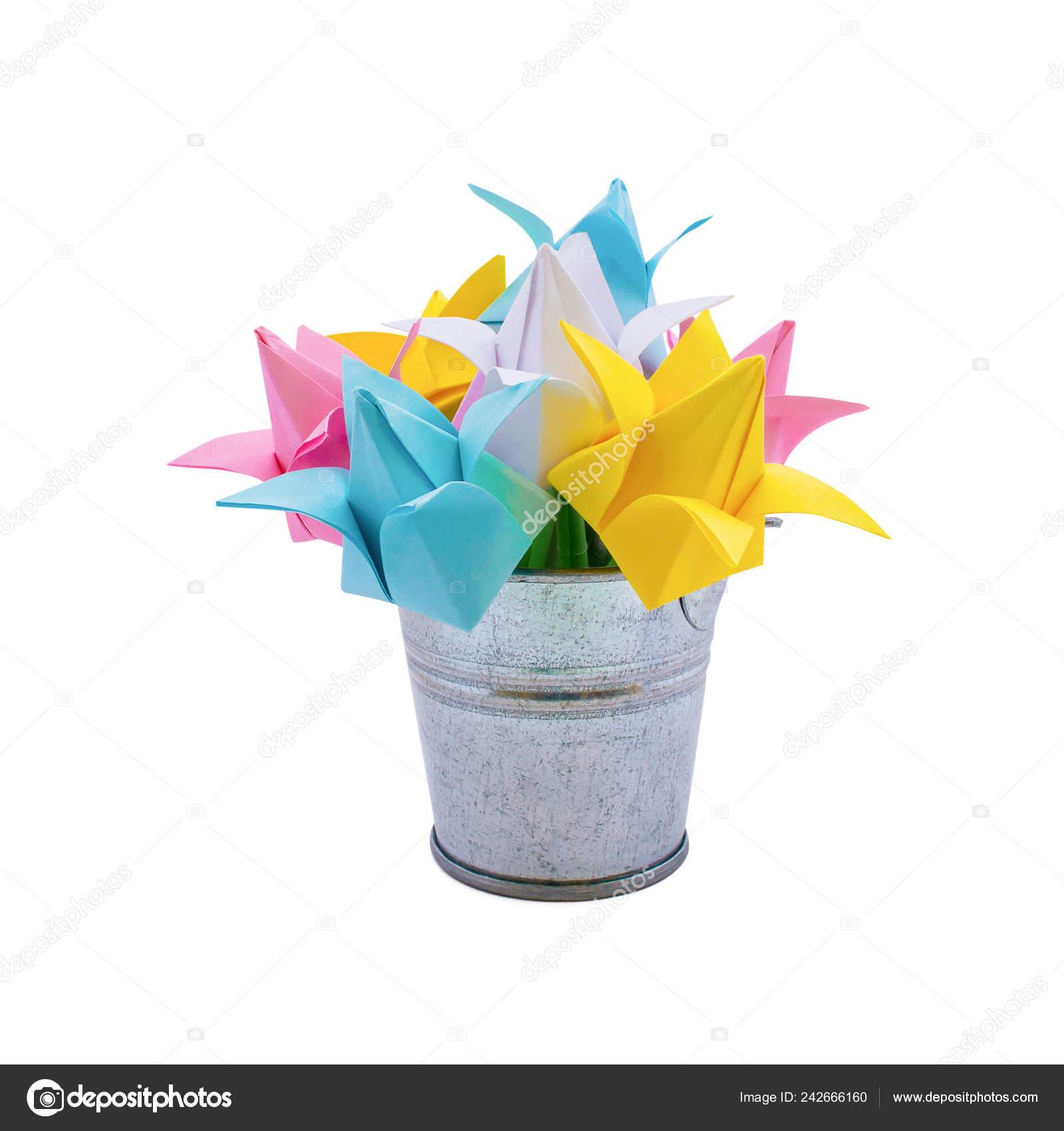 Handprint Flower and Paper Flowerpot Craft | 1700x1600