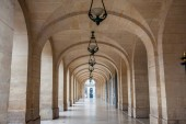 Photo Arches corridor at the Odeon Theater in Paris France