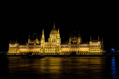 Hungary Parliament building at night time