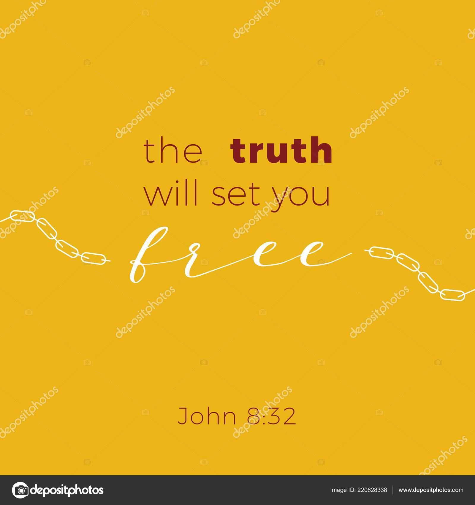 Frase Bíblica Del Evangelio Jonh Verdad Usted Configurar