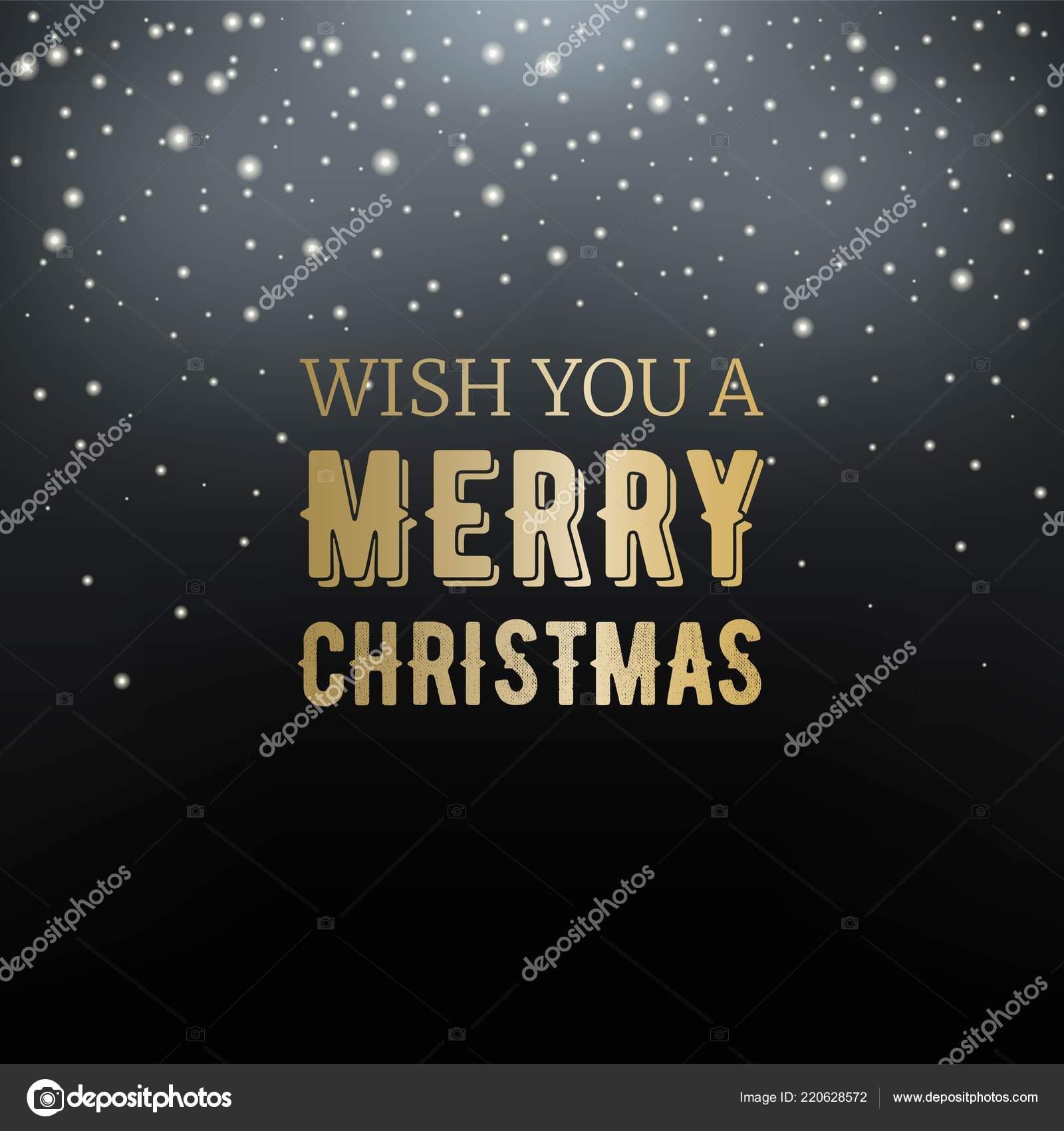 Frohe Weihnachten Glitzer.Wunschen Sie Ihnen Eine Frohe Weihnachten Typografie Auf