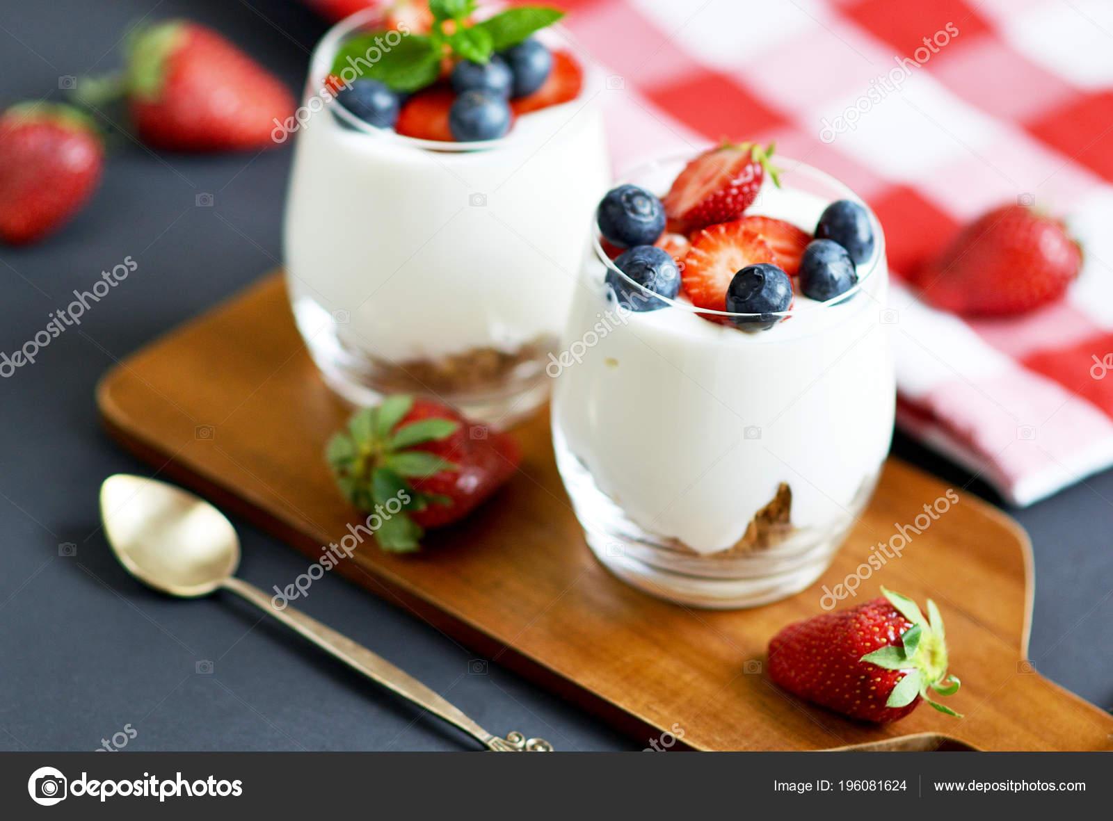 Dieta fresas y yogur