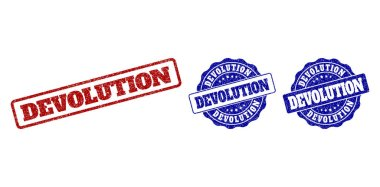 DEVOLUTION Scratched Stamp Seals