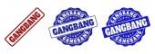 Fotografie Gangbang zerkratzt Stempel Dichtungen