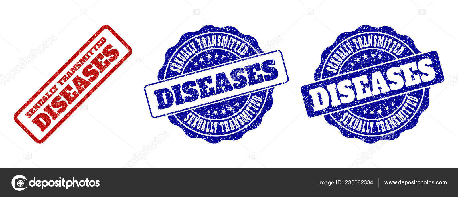 Sexually transmitted diseases pictures for labels