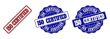 ISO CERTIFIED Scratched Stamp Seals