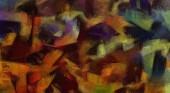 Abstraktní pozadí textury. Digitální design malířství impresionismu kresby. Ručně nakreslený umělecký vzor. Moderní umění. Dobré pro tištěné obrázky, pohlednice, plakáty nebo tapety a textilní tisk.
