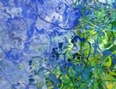 Abstraktní pozadí textury. Digitální design malířství impresionismu kresby. Ručně nakreslený umělecký vzor. Moderní umění. Dobré pro tištěné obrázky, pohlednice, plakáty nebo tapety a textilní tisk