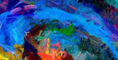 """Картина, постер, плакат, фотообои """"современный художественный декор стен. абстрактный рисунок фона. дизайнерские работы. мазки кисти на холсте. художественный узор. творческий отпечаток моды. как психоделический постер. сюрреалистическая графическая абстракция. постеры картины море ретро санкт-петербург белые"""", артикул 242423006"""