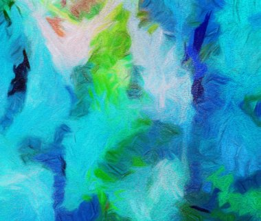 Colorful warm and bright artistic texture background. Oil paint