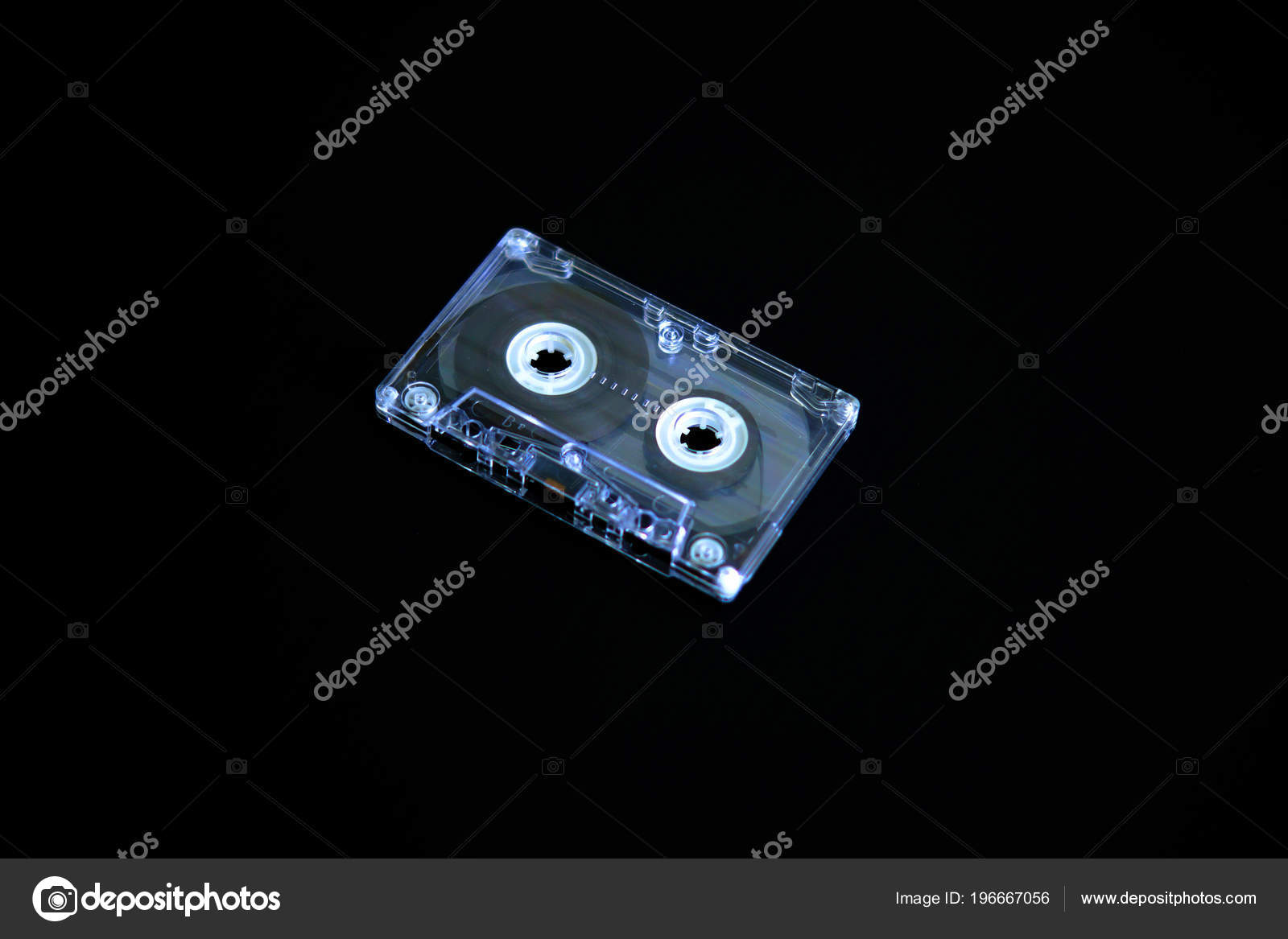 Audio Tapes Tape Recorder 70s 80s 90s Vintage Fashion Old Stock