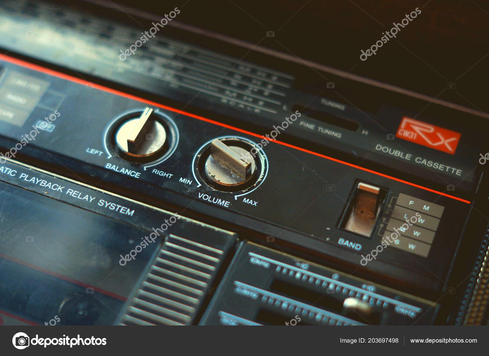 Música Reproductor Cassette Wallpaper Fondo Retro Vintage