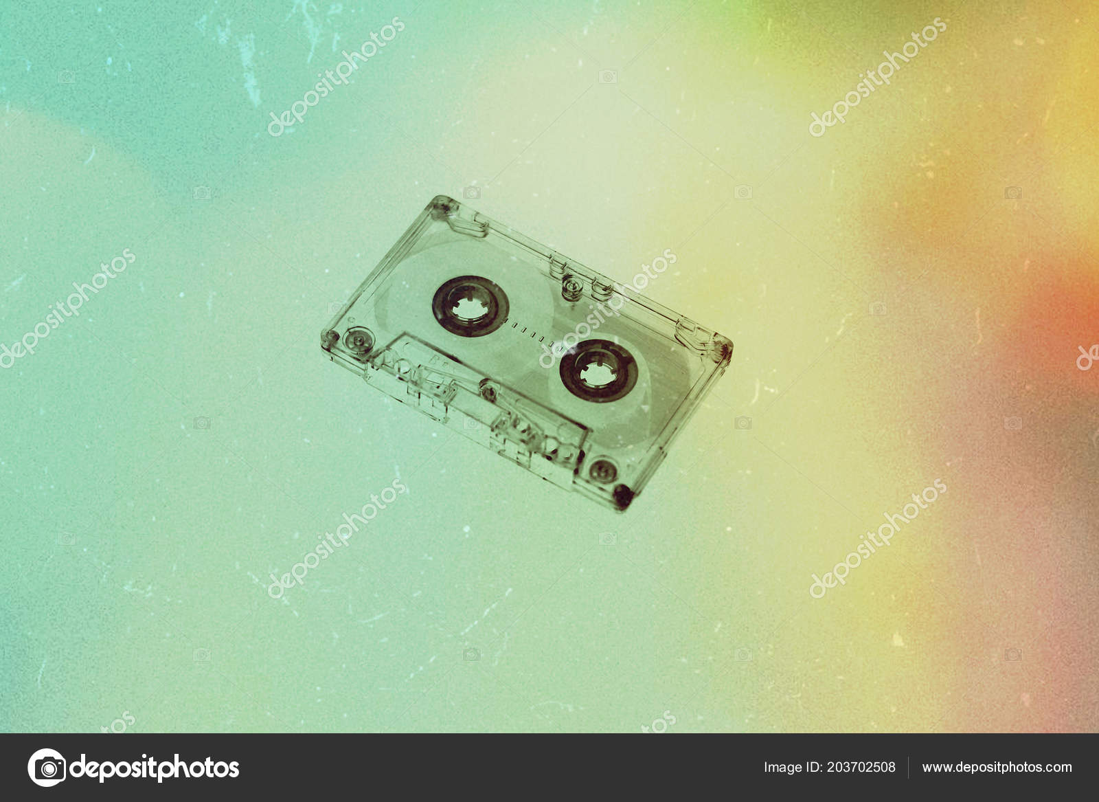 Audio Cassette Background Wallpaper Textures Retro Old Vintage