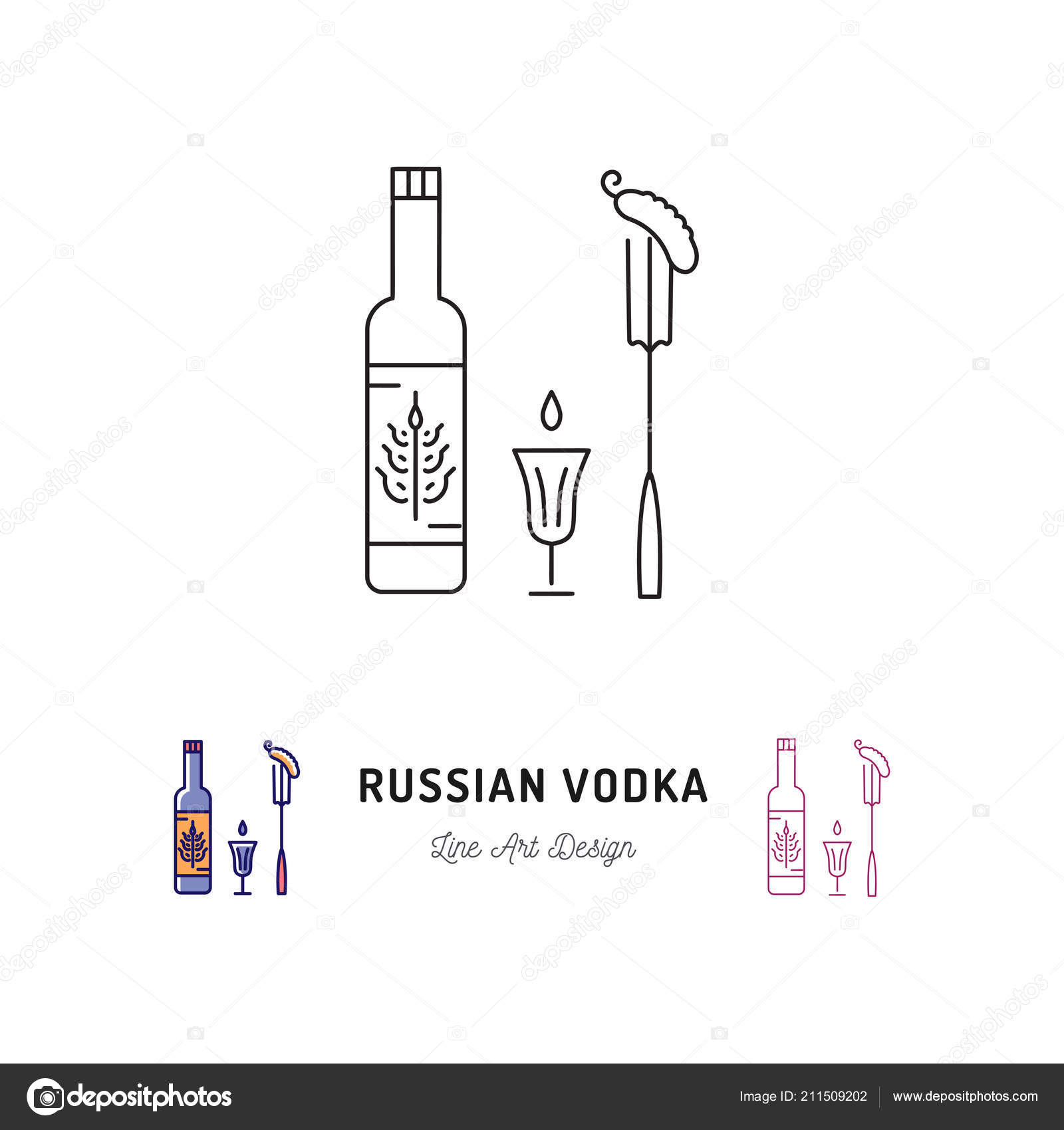 Russian Vodka Bottle Russian Food And Drink Traveling In Russia