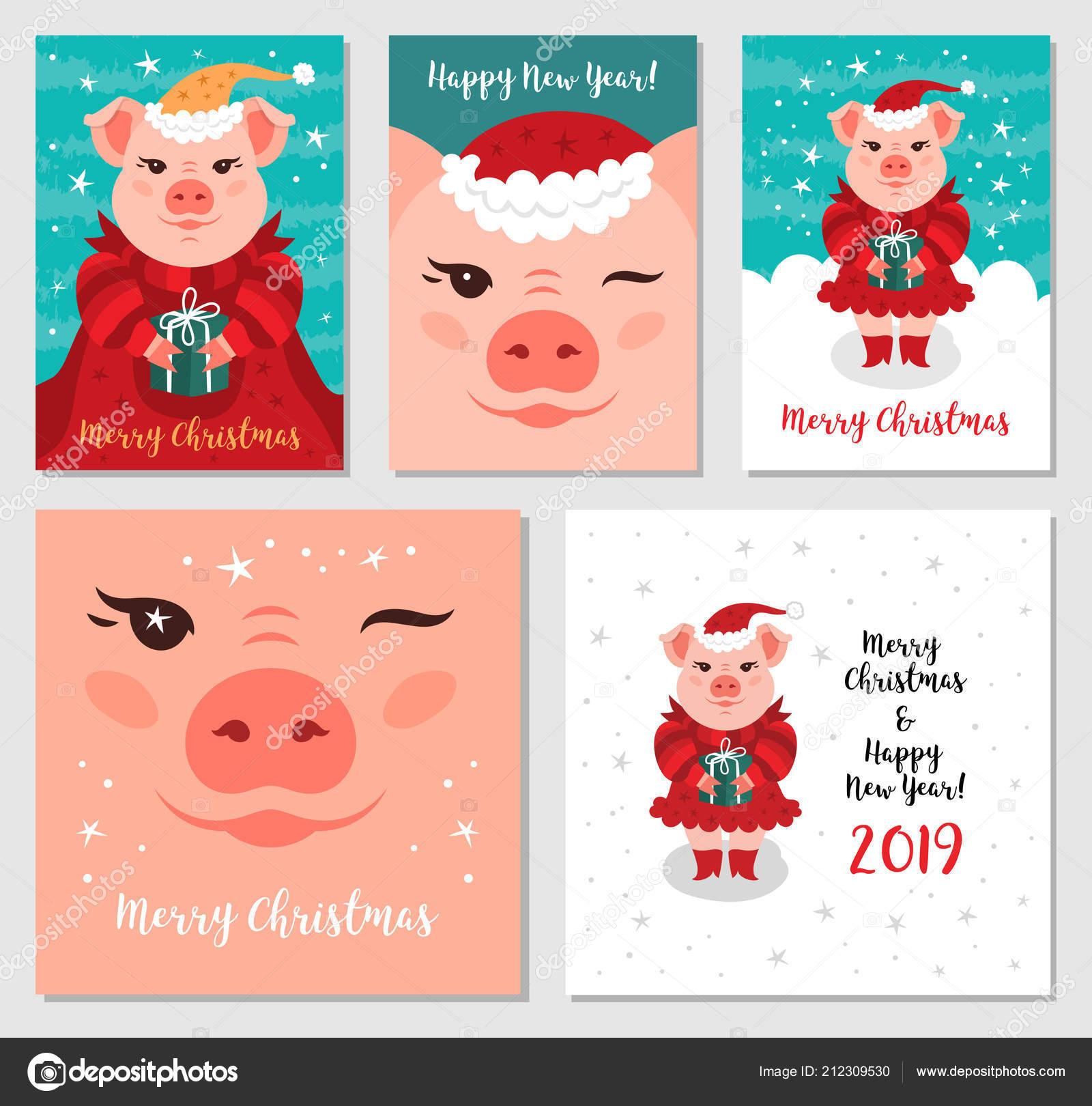 Immagini Divertenti Natale 2019.Immagini Auguri Di Buon Natale Divertenti Maiali