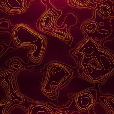 Abstract colorful topographic background with colored liquid wavy lines.
