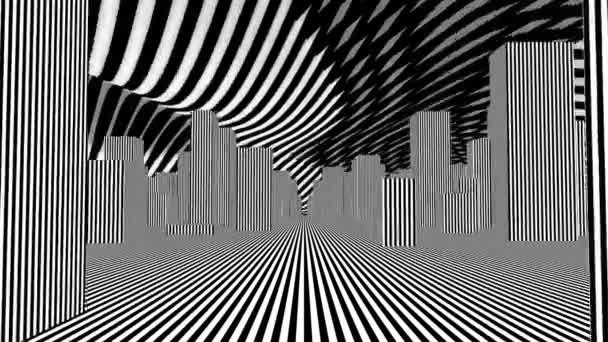 Strip street abstract loop