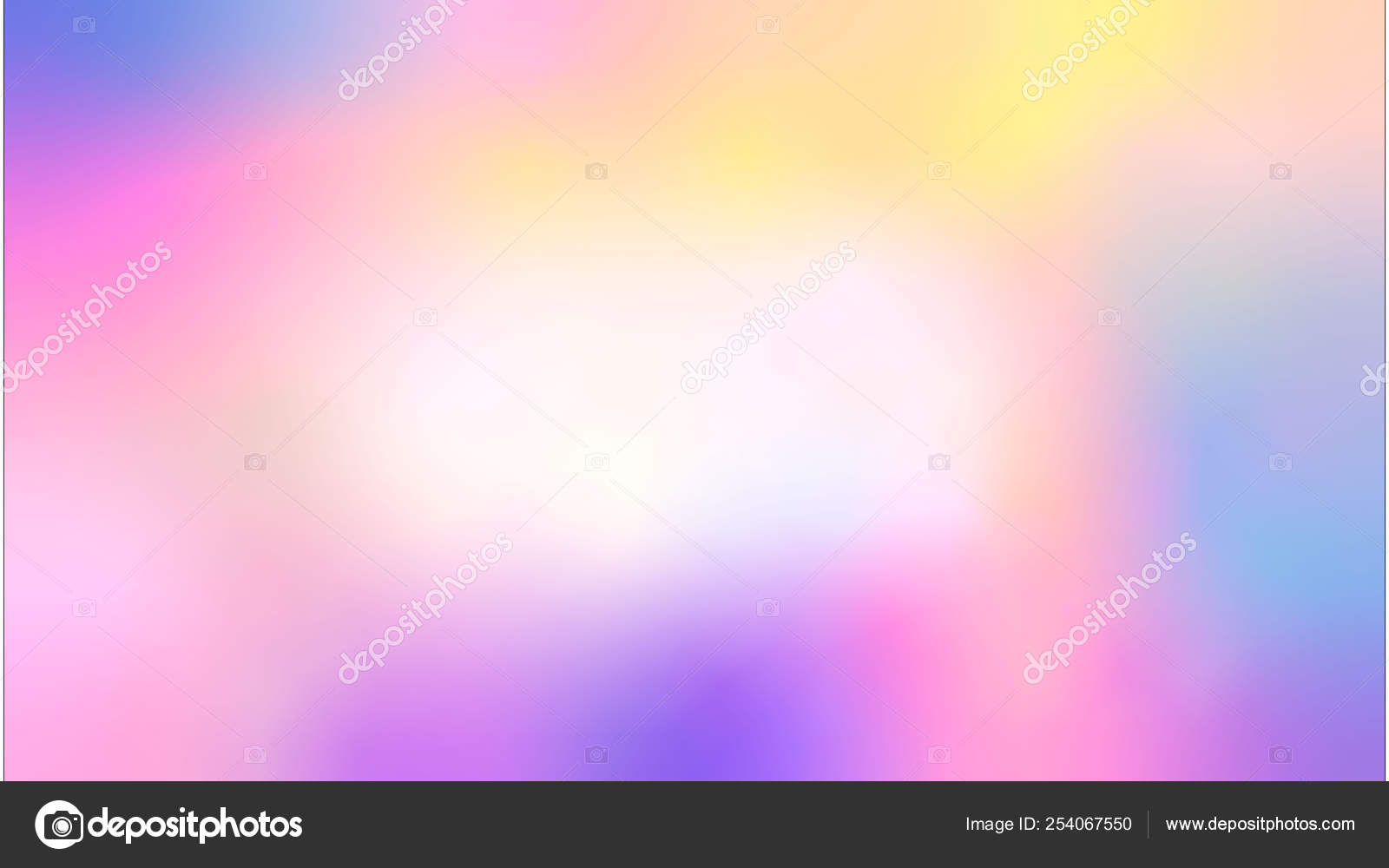 Colorful Smooth Gradient Color Blur Pastel Sweet Color Pink Purple Stock Photo C Skvalval 254067550