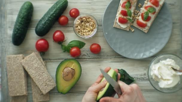 Cucinare sano Veggie panini