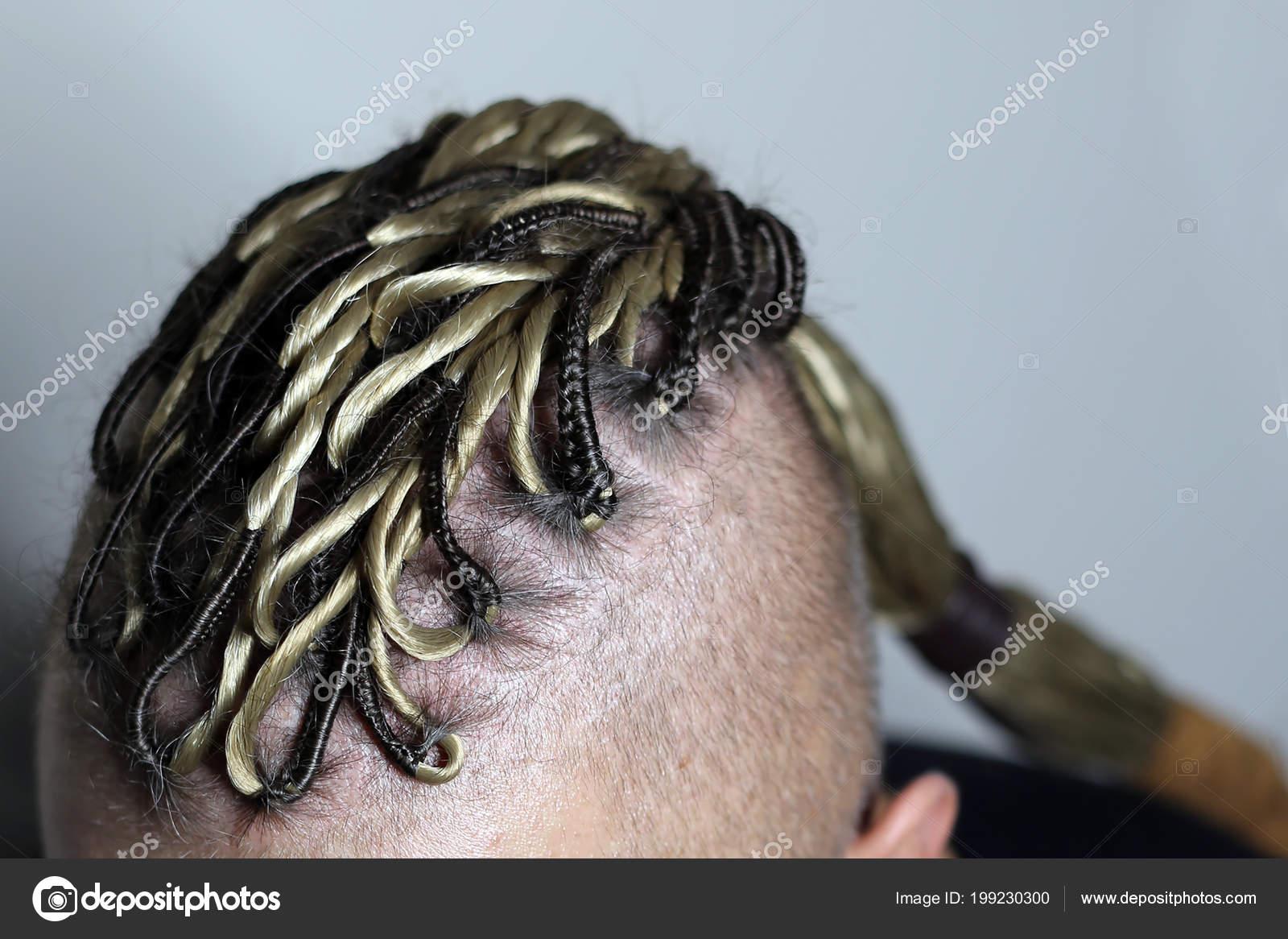 Penteado Masculino Como Dreadlocks Iroquois Viking Cabelo