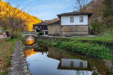 ETARA, GABROVO, BULGARIA- october, 2018: Architectural Ethnographic Complex Etar (Etara) near town of Gabrovo, Bulgaria