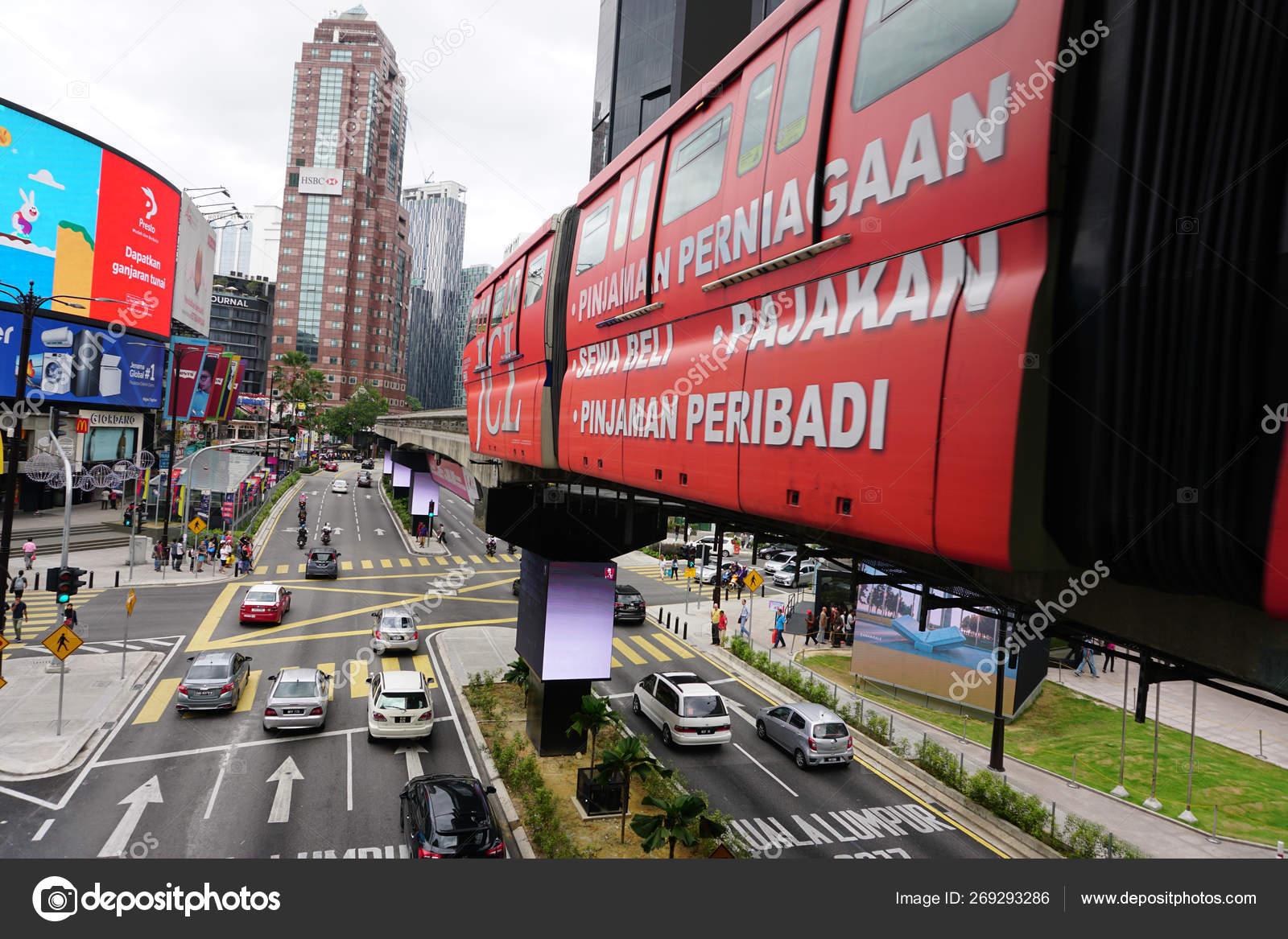 Kuala Lumpur Malaysia 31St December 2017 Busy Traffic Jalan Bukit