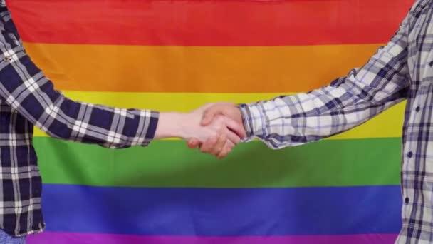 Uzavření signalizace na pozadí příznaku LGBT