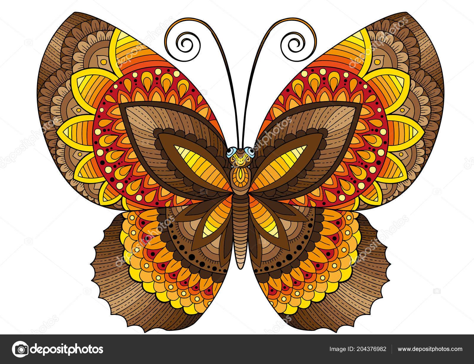 Imagenes De Mariposas De Colores: Mariposas Decorativas Colores Brillantes Imagen Para