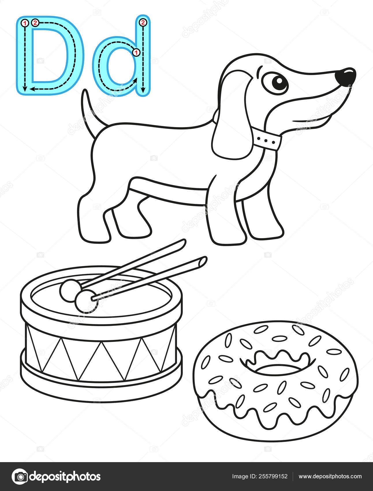 Página Para Colorear Imprimible Para Kindergarten Y