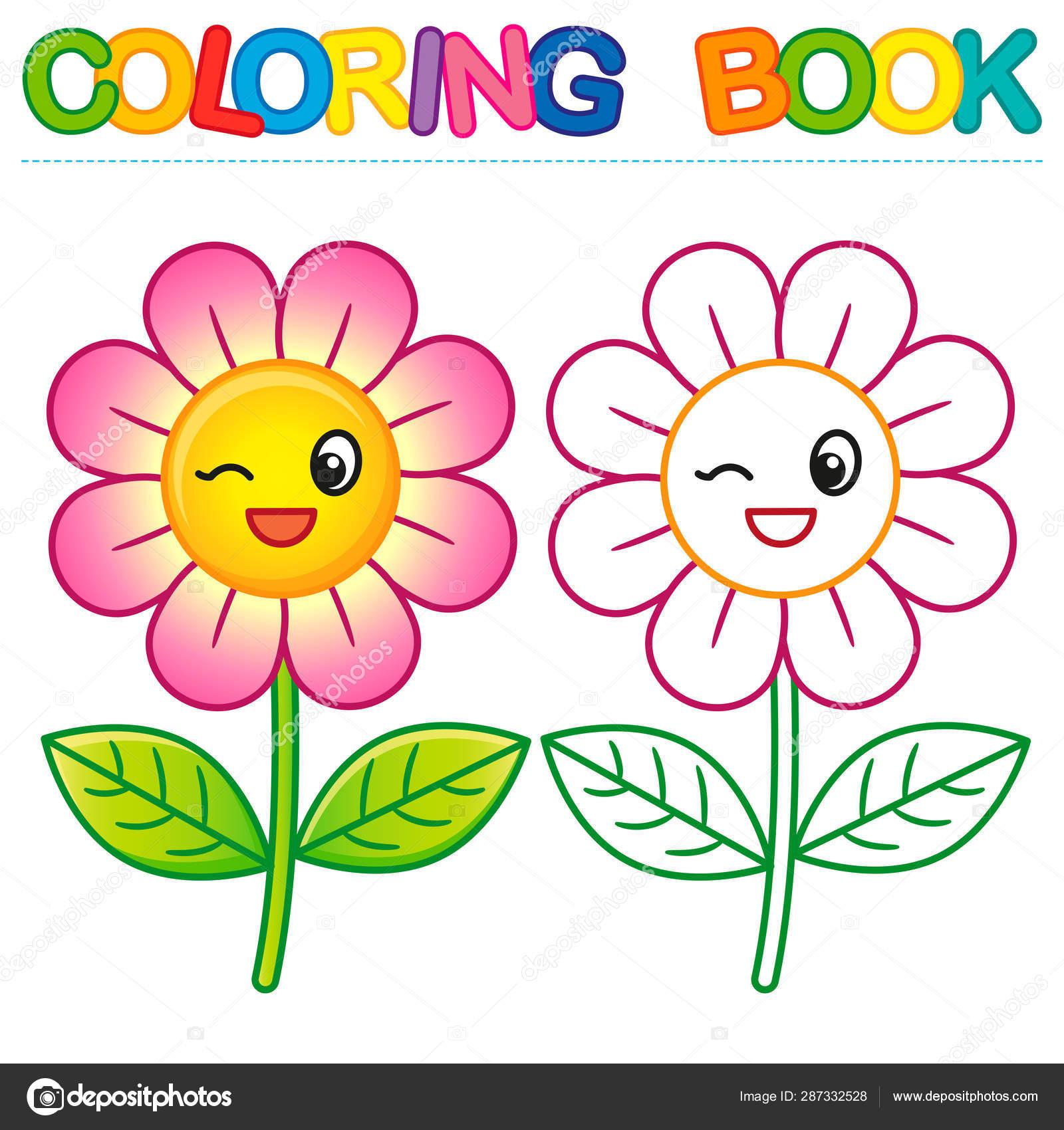Livre Coloriage Vecteur Pour Des Enfants Niveau Simple Avec