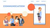 Obchodní konference online. Představa virtuální komunikace
