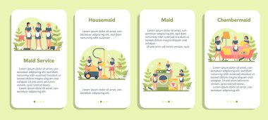 Maid service, cleaning service, apartment cleaning mobile application