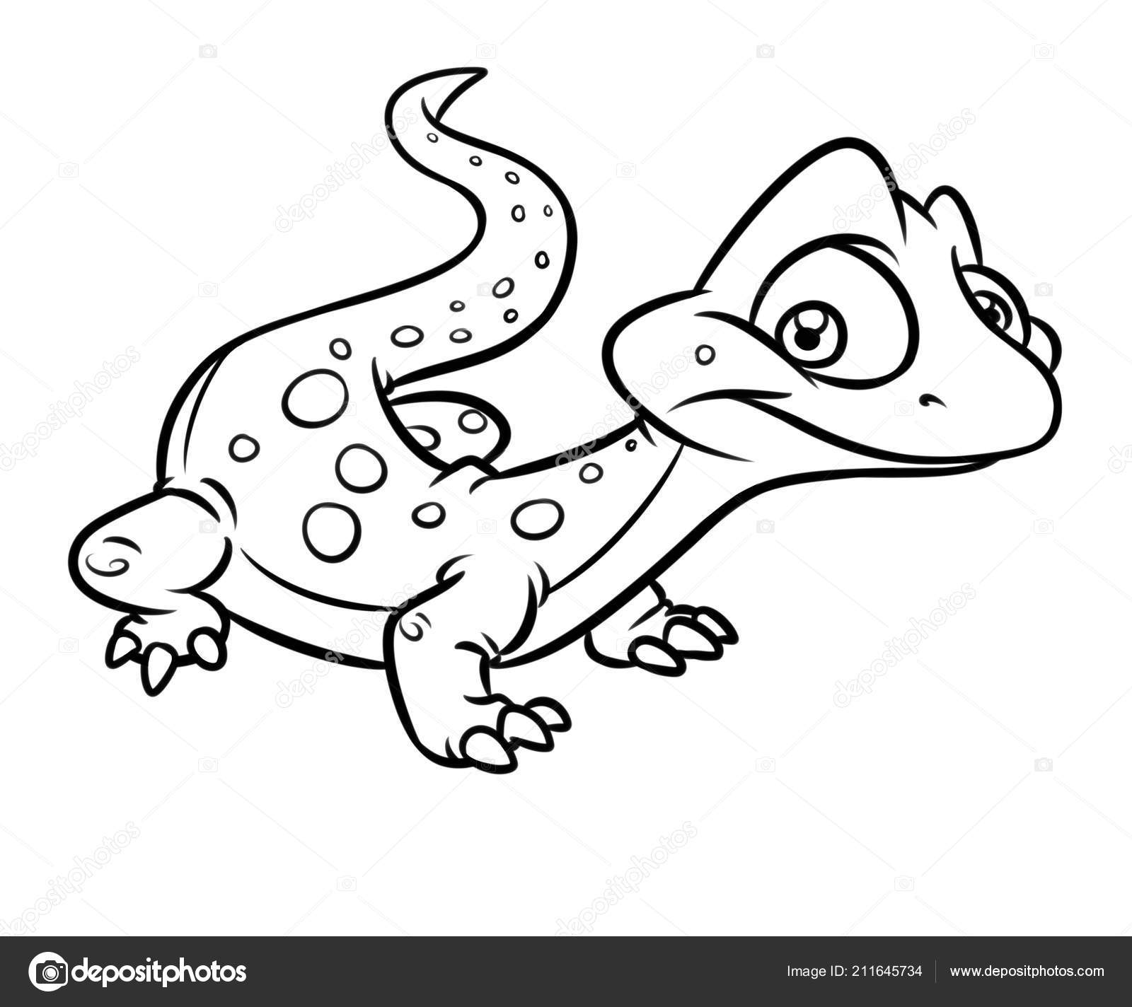 Gecko Animals Coloring Pages coloring page & book for kids. | 1424x1600