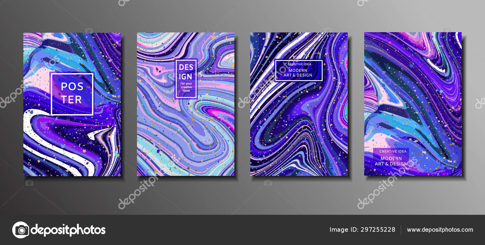 Abstract Painting Background For Wallpapers Posters Cards Invitations Websites Modern Painting Handmade Background Marble Effect Painting Vector Stock Vector C Artemisia1508 Gmail Com 297255228