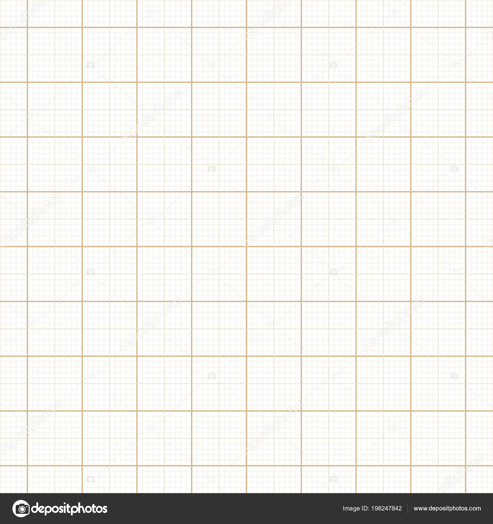 yellow architect graph paper repeat vector grid stock vector
