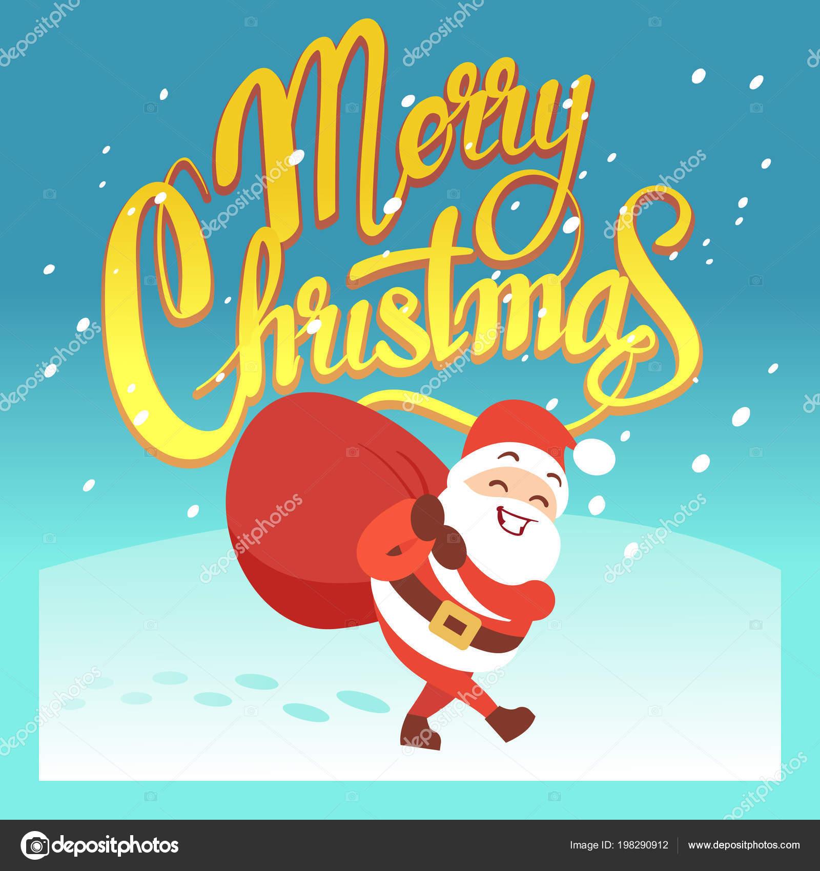 Frohe Weihnachten Lustige Bilder.Frohe Weihnachten Vektor Grusskarte Oder Einladung Mit
