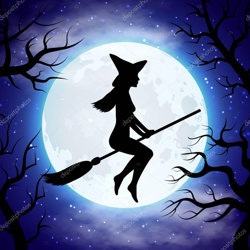 финансов хватало, картинки с ведьмочками на метле известные