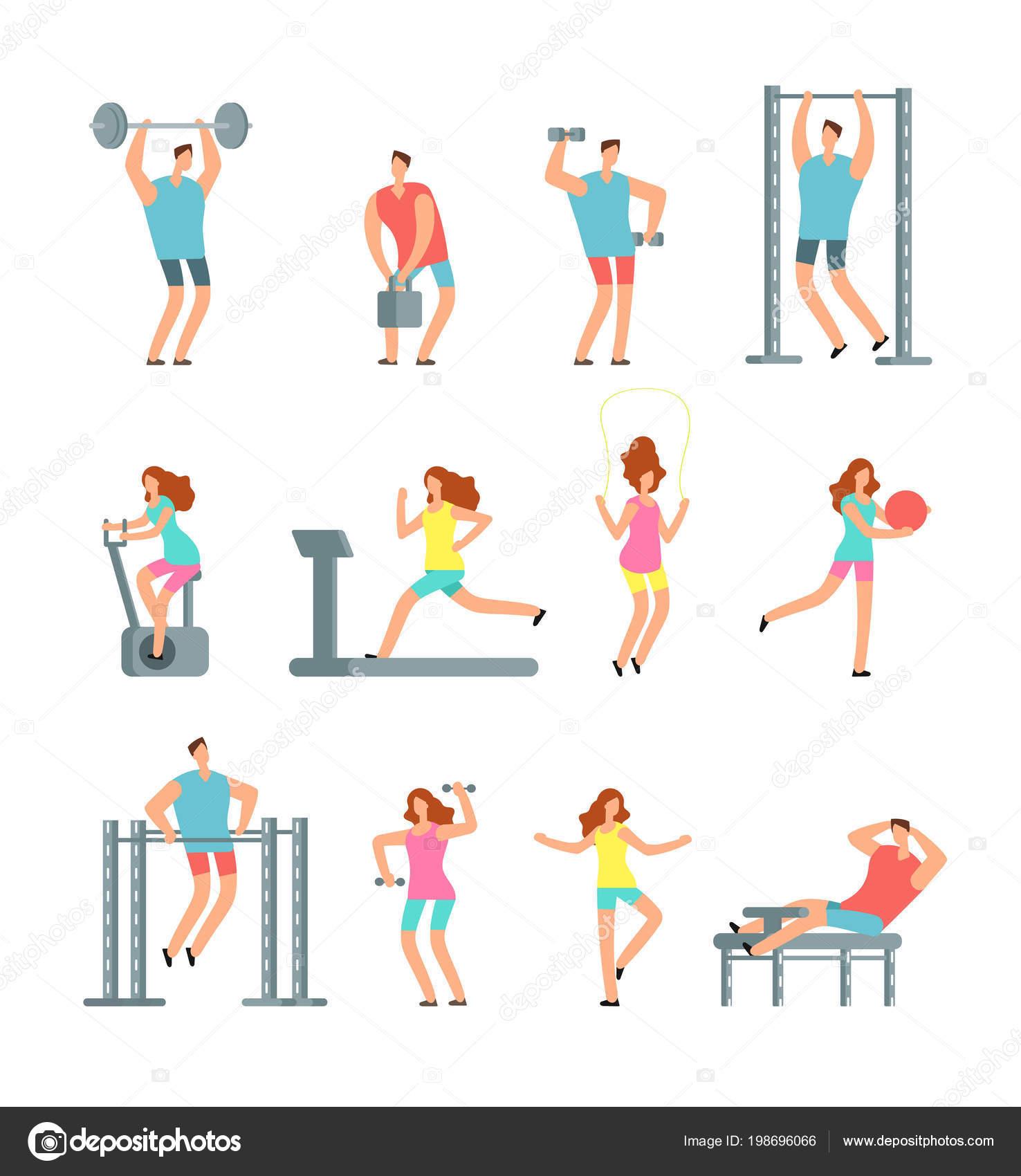 Ejercicios para gimnasio mujeres