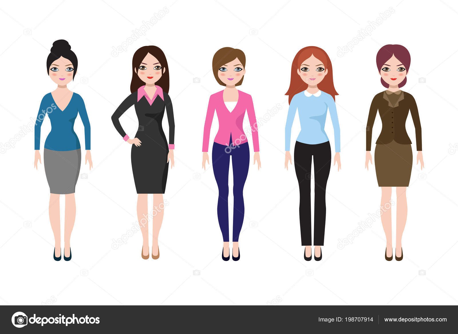 dress - Clothes casual for young women photo video