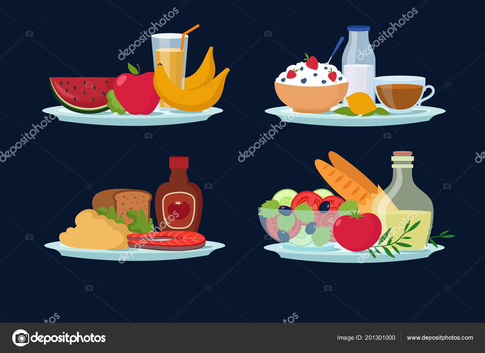 Dieta desayuno almuerzo y cena