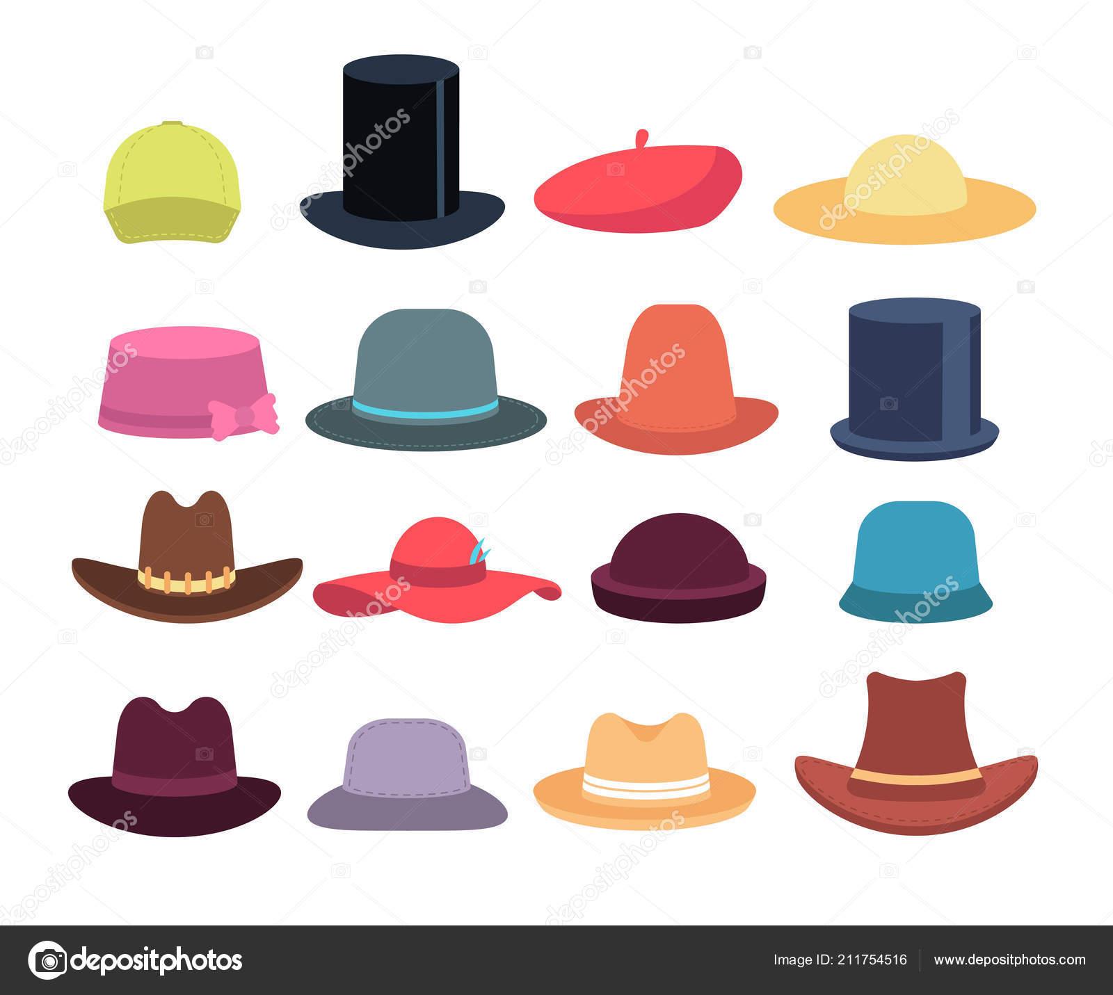 Rajzfilm kalapok. Férfi és női kalap és más fejfedő. Kalap és kap  hétköznapi modellek 7647653619