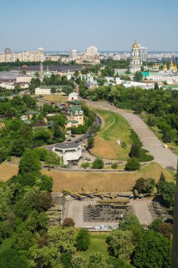 Kiev cityscape with high viewpoint