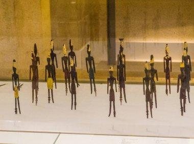 Figurines Masculines, Beyrut Ulusal Müzesi, Lübnan