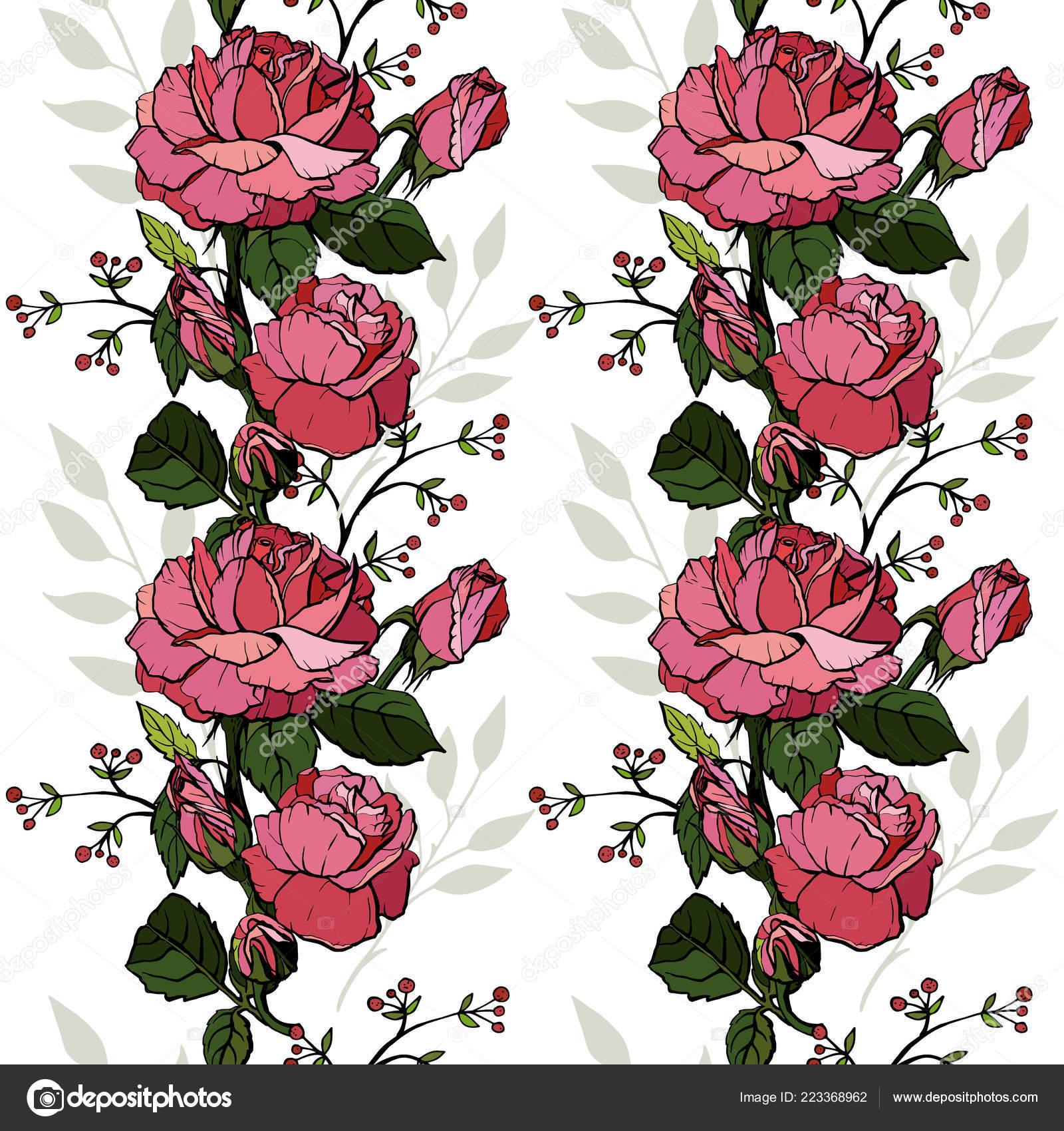 Rosas Inglés Sin Problemas Diseño Tarjetas De Felicitación
