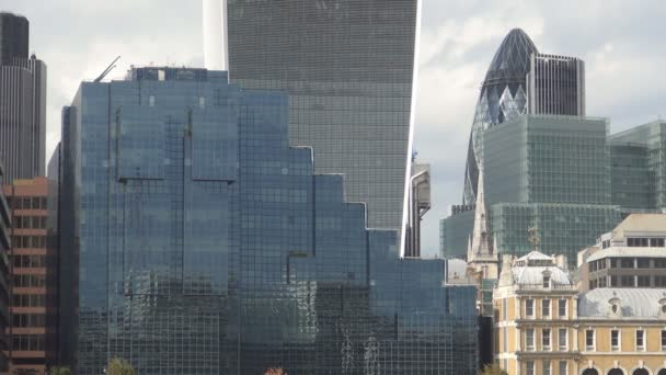 Steel and Glass Building Facade Image with Modern Architecture Located in London
