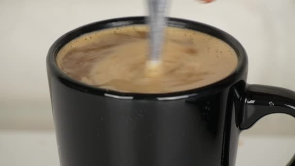 Close Up Image with a Cup of Coffee Tasty Hot Cappuccino Energy Drink